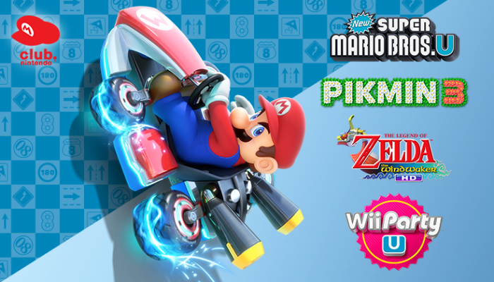 NoA: 'Buy Mario Kart 8, get a free downloadable game from Club Nintendo!'
