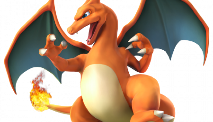 Super Smash Bros. for Wii U & Nintendo 3DS: Charizard joins the battle!