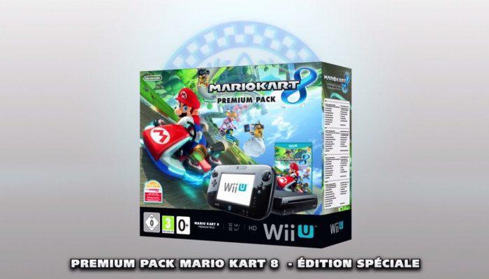 Le Wii U Premium Pack Mario Kart 8 announcé par Nintendo France !!!