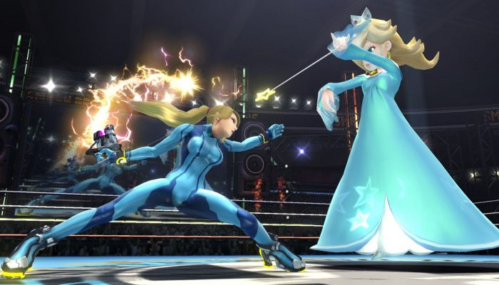 Super Smash Bros. – Character Screenshots: Zero Suit Samus
