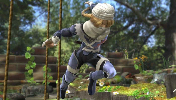 Super Smash Bros. – Character Screenshots: Sheik