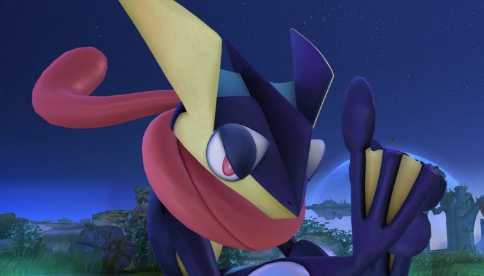 Super Smash Bros. – Character Screenshots: Greninja