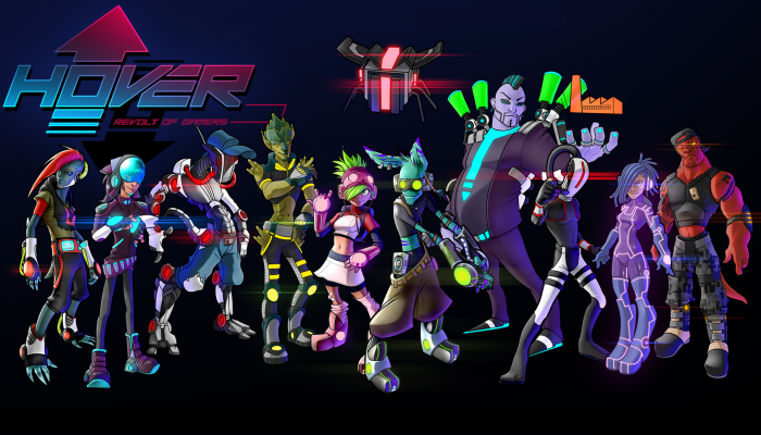 Hover: Revolt of Gamers coming to Wii U!