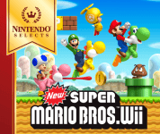 Nintendo Selects New Super Mario Bros Wii