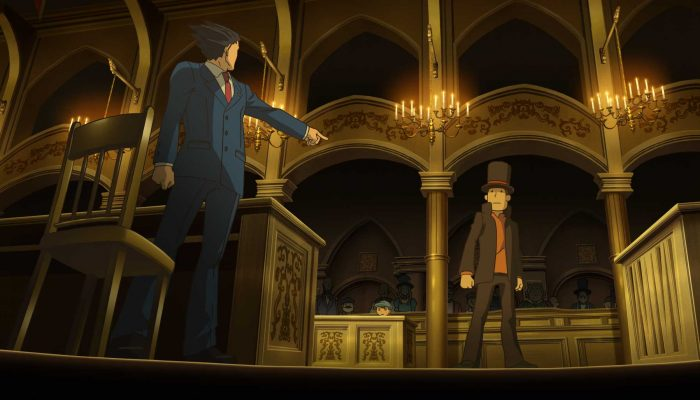 NoE: 'Unlock free add-on content in Professor Layton vs Phoenix Wright: Ace Attorney'