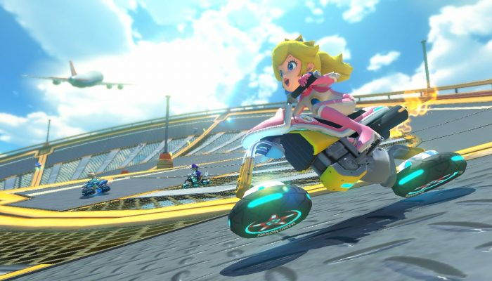 Mario Kart 8 – Sunshine Airport, Mario Kart TV Footage