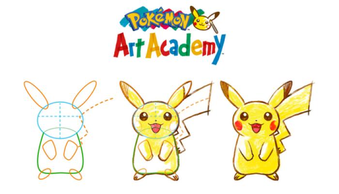NoA: 'Learn To Draw Your Favorite Pokémon In Pokémon Art Academy For Nintendo 3DS'