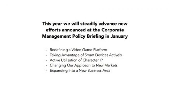 Nintendo FY3/2014 Financial Results Briefing, Part 5: Short- and Medium-Terms
