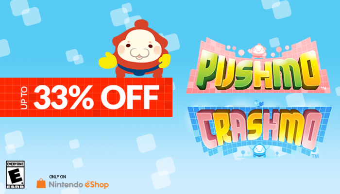 NoA: 'Get up to 33% off Pushmo and Crashmo on Nintendo eShop'