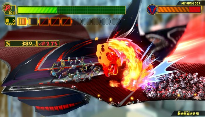 PlatinumGames Interviews Saurian Dash on The Wonderful 101's Battle System