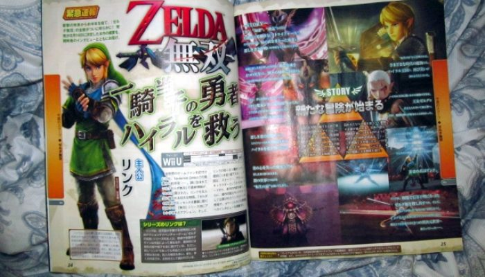 "Zelda Musou (""Hyrule Warriors"") releasing in Japan on August 14, Famitsu scan reveals"