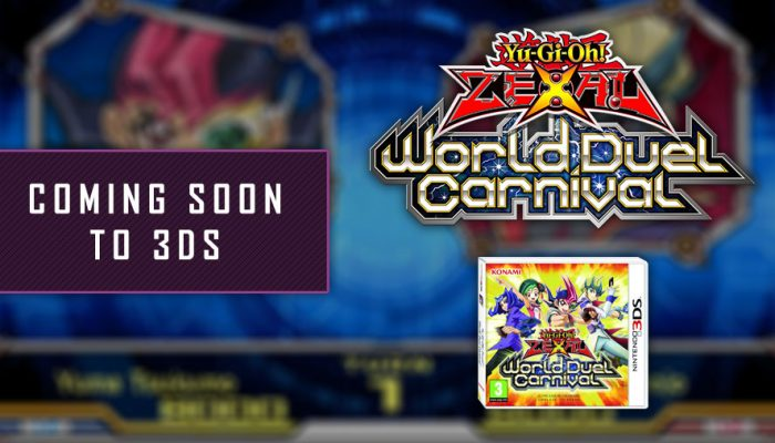 Konami: 'Yu-Gi-Oh! Zexal World Duel Carnival coming to 3DS!'