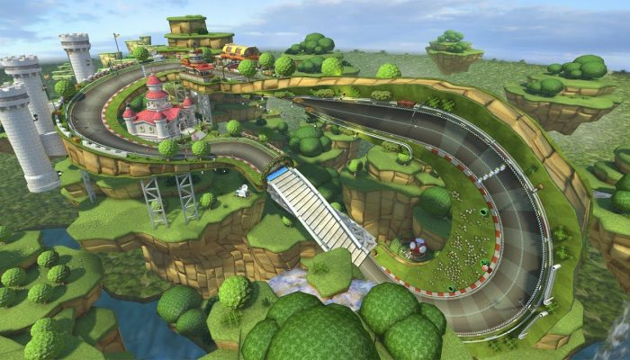 Mario Kart 8 – Flower Cup Official Footage
