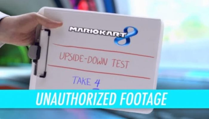 Mario Kart 8 – Upside Down Test Unauthorized Footage Commercial