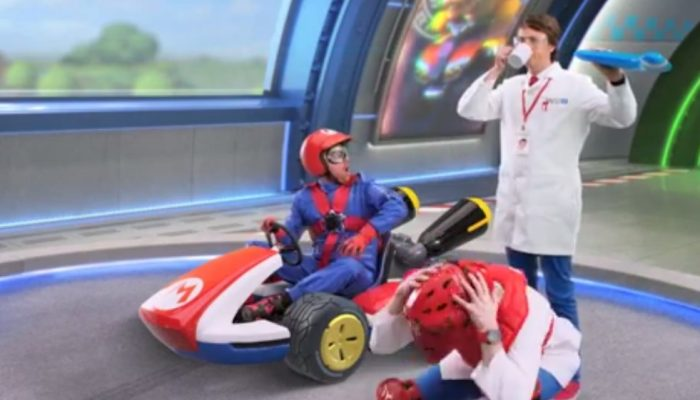 Mario Kart 8 – Boomerang Flower Test Unauthorized Footage Commercial