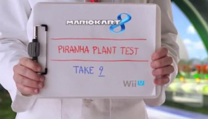Mario Kart 8 – Piranha Plant Test Extended Footage Commercial
