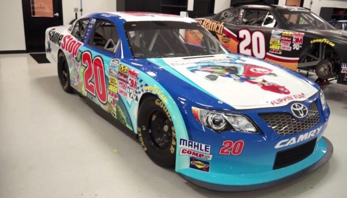NoA: 'Mario Kart 8 Speeds Onto Charlotte Motor Speedway For NASCAR Race'