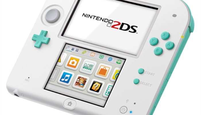 NoA: 'Sea Green Nintendo 2DS System Available June 6, 2014'