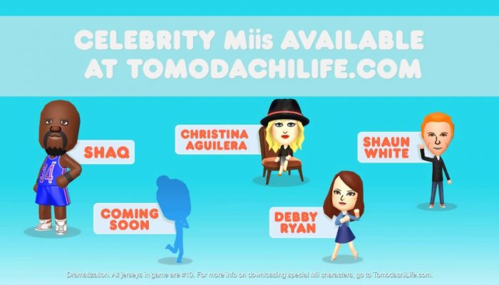 Tomodachi Life – Food Reviews feat. Shaun White and Shaq Commercial