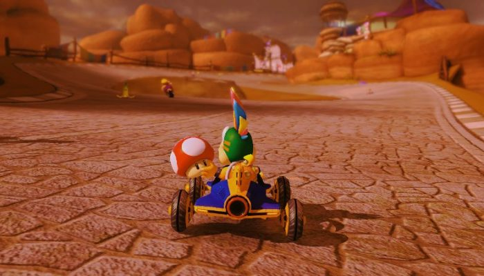 Heads-up for competitive Mario Kart players