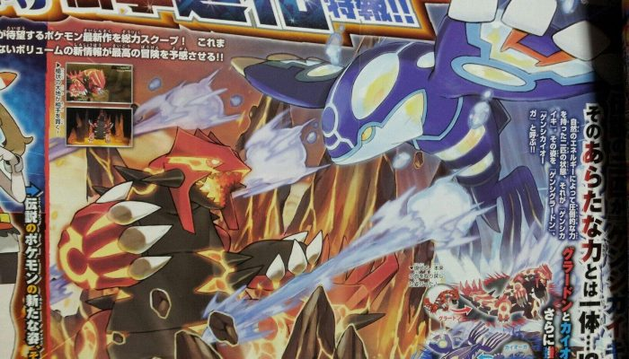 Pokémon Omega Ruby & Alpha Sapphire – CoroCoro Reveals and Scans