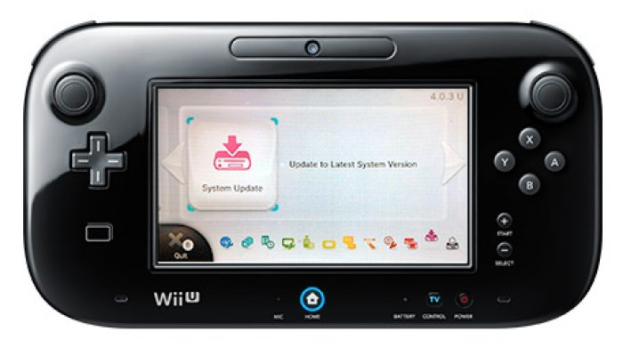 Marty from Nintendo announces Wii U System Update 5.0.0E directly on Miiverse
