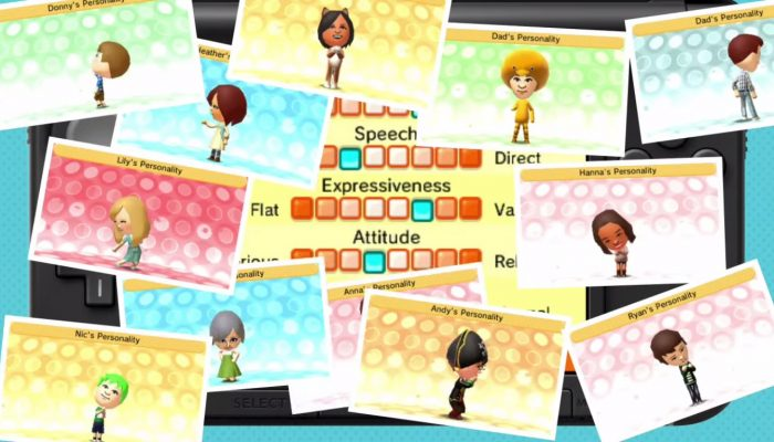 Tomodachi Life – Bring Mii Characters to Life! Commercial