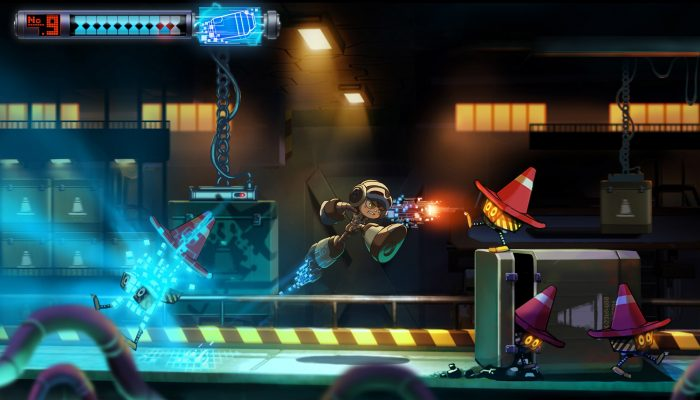 Mighty No. 9 – Work-in-Progress Gameplay Footage