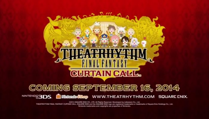 Theatrhythm Final Fantasy Curtain Call – E3 2014 Trailer