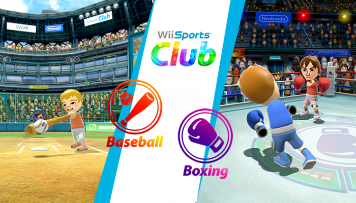 NoE: 'In Nintendo eShop now: Wii Sports Club Boxing and Baseball'