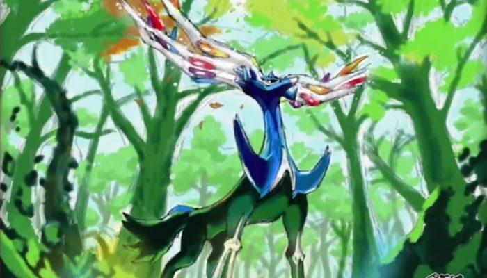 Pokémon Art Academy – Bande-annonce Xerneas