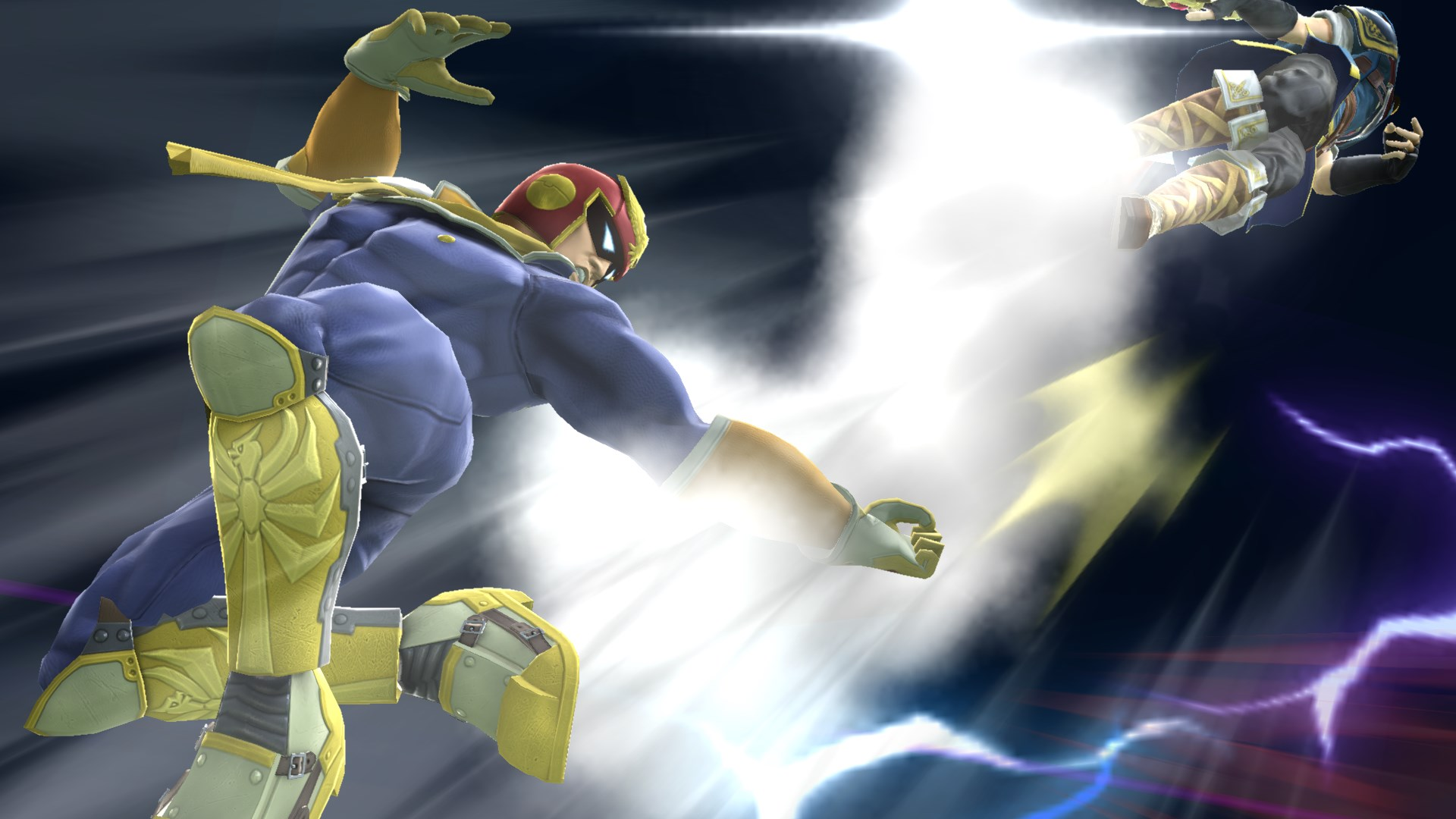 Super Smash Bros For Wii U Character Screenshots Captain Falcon