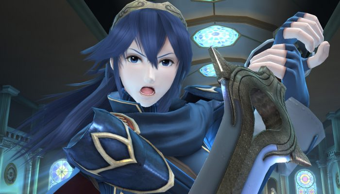 Super Smash Bros. for Wii U – Character Screenshots: Lucina