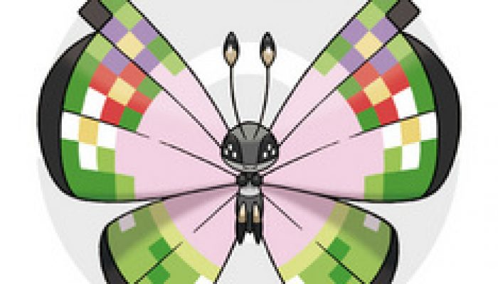 Pokémon X/Y – Fancy Pattern Vivillon Famitsu Screenshots
