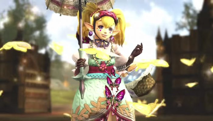 Hyrule Warriors – English Trailer with Agitha and a Parasol