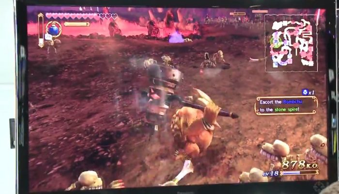 IGN showcases Darunia gameplay in Hyrule Warriors at SDCC