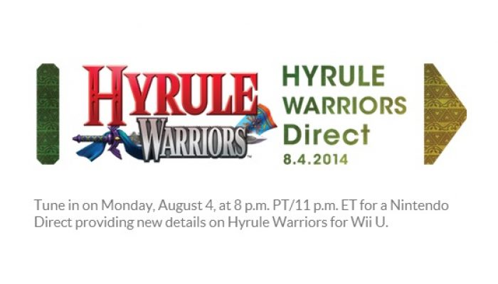 Hyrule Warriors Direct set for Monday 8/4, 8 PM PT in North America