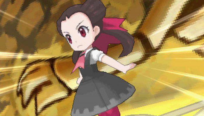 Pokémon ORAS – Gym Leaders, Rock-type Roxanne Art and Screenshots