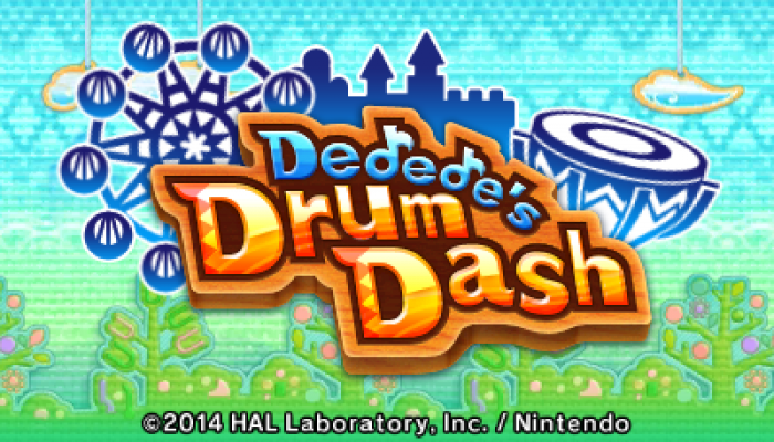 Camp Miiverse: Sixth Challenge, Kirby Triple Deluxe, DeDeDe's Drum Dash