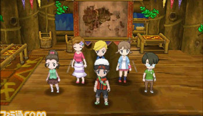Pokémon ORAS – Super-Secret Bases Famitsu Screenshots