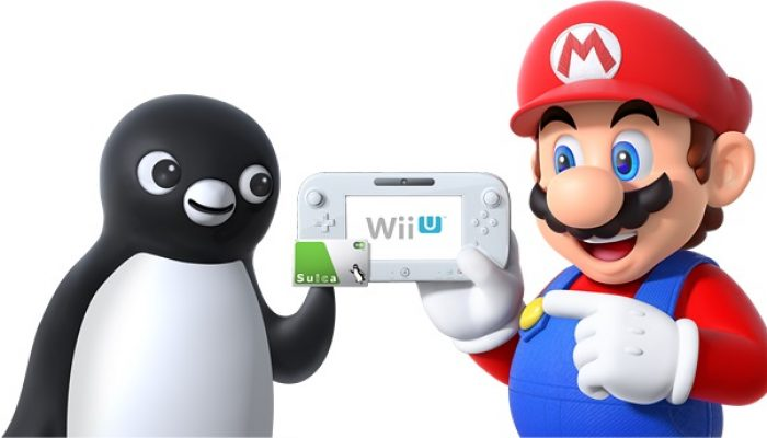NCL, official Japanese press release: Nintendo making NFC payment available on Wii U with Suica in Japan
