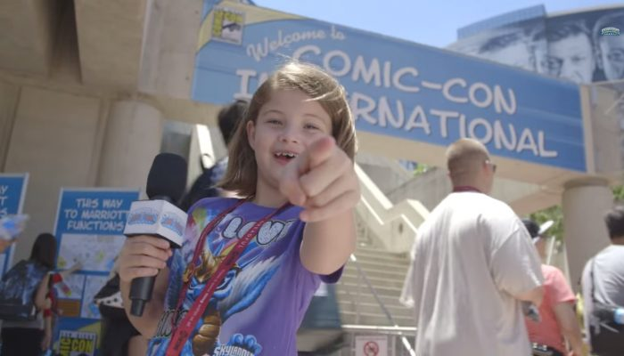 "Skylanders Trap Team – Comic-Con Kid Reporter Episode 1 ""Watching Nerds in Their Natural Habitat"""