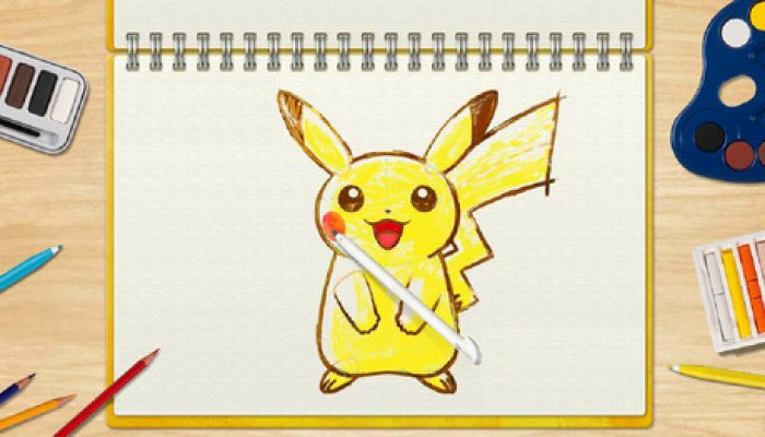 NoE: 'In shops and on Nintendo eShop now: Pokémon Art Academy'