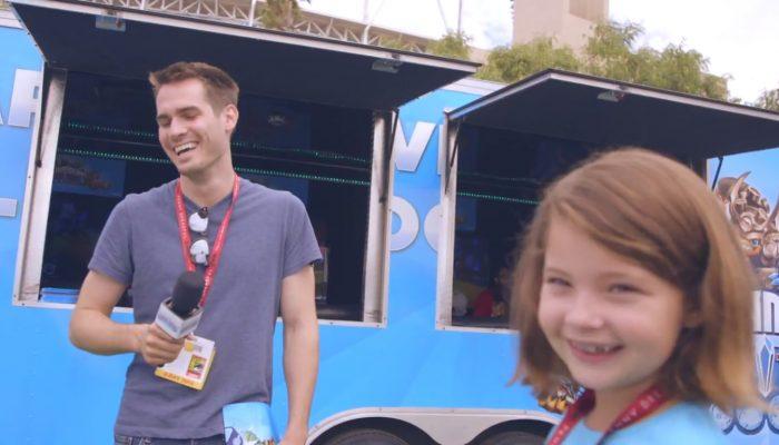 Skylanders Trap Team – Comic-Con Kid Reporter Episode 3 with Random People
