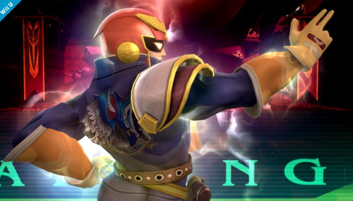 Super Smash Bros. – Captain Falcon Reveal Screenshots