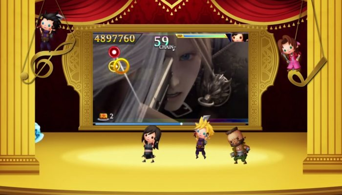 Theatrhythm Final Fantasy Curtain Call – Legacy of Music: Final Fantasy VII Trailer