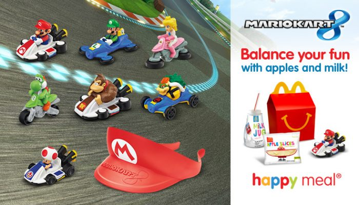 NoA: 'Look what's parked in your Happy Meal: Mario Kart 8 toys!'