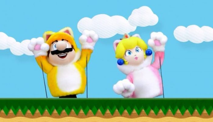 NoE: 'Watch The Cat Mario Show on Nintendo eShop now!'