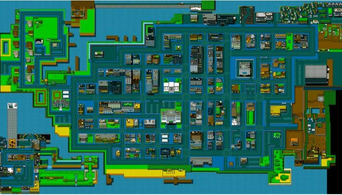 Bri from Vblank links Retro City Rampage's full world map for download on Miiverse