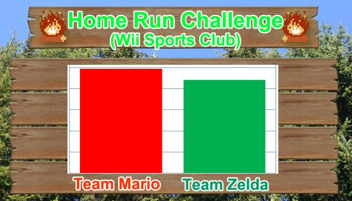 Camp Miiverse: Team Mario won the first challenge!!